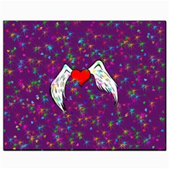 Your Heart Has Wings So Fly   Updated Canvas 8  X 10  (unframed)