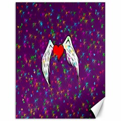 Your Heart Has Wings so Fly - Updated Canvas 12  x 16  (Unframed)