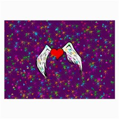 Your Heart Has Wings So Fly   Updated Glasses Cloth (large)