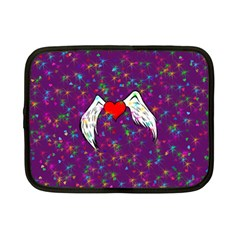 Your Heart Has Wings so Fly - Updated Netbook Case (Small)
