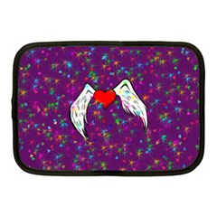 Your Heart Has Wings So Fly   Updated Netbook Case (medium)