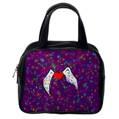 Your Heart Has Wings So Fly   Updated Classic Handbag (one Side)