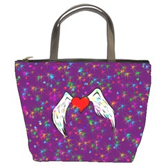 Your Heart Has Wings so Fly - Updated Bucket Bag