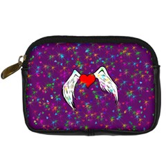 Your Heart Has Wings so Fly - Updated Digital Camera Leather Case