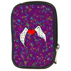Your Heart Has Wings so Fly - Updated Compact Camera Leather Case