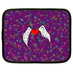 Your Heart Has Wings So Fly   Updated Netbook Case (xxl)