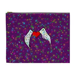 Your Heart Has Wings so Fly - Updated Cosmetic Bag (XL)