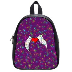 Your Heart Has Wings So Fly   Updated School Bag (small)