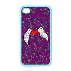 Your Heart Has Wings So Fly   Updated Apple Iphone 4 Case (color)