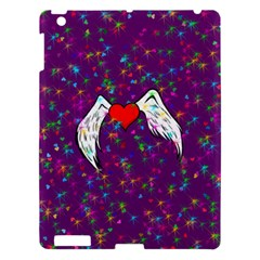Your Heart Has Wings so Fly - Updated Apple iPad 3/4 Hardshell Case