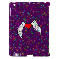Your Heart Has Wings so Fly - Updated Apple iPad 3/4 Hardshell Case (Compatible with Smart Cover)