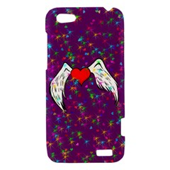 Your Heart Has Wings so Fly - Updated HTC One V Hardshell Case