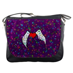 Your Heart Has Wings so Fly - Updated Messenger Bag