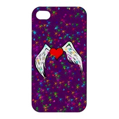Your Heart Has Wings so Fly - Updated Apple iPhone 4/4S Premium Hardshell Case