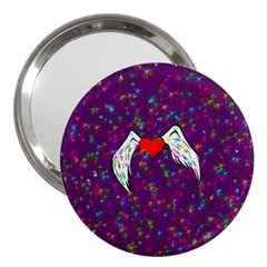 Your Heart Has Wings So Fly   Updated 3  Handbag Mirror