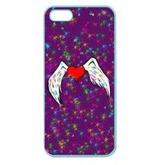 Your Heart Has Wings So Fly   Updated Apple Seamless Iphone 5 Case (color)
