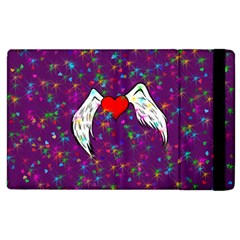 Your Heart Has Wings so Fly - Updated Apple iPad 3/4 Flip Case