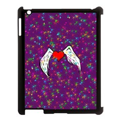 Your Heart Has Wings so Fly - Updated Apple iPad 3/4 Case (Black)
