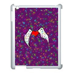 Your Heart Has Wings so Fly - Updated Apple iPad 3/4 Case (White)