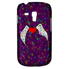 Your Heart Has Wings so Fly - Updated Samsung Galaxy S3 MINI I8190 Hardshell Case