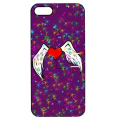 Your Heart Has Wings So Fly   Updated Apple Iphone 5 Hardshell Case With Stand