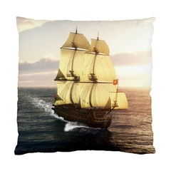 French Warship Cushion Case (One Side)