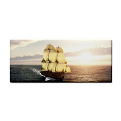 French Warship Hand Towel