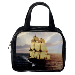 French Warship Classic Handbag (one Side)