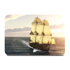 French Warship Table Mat