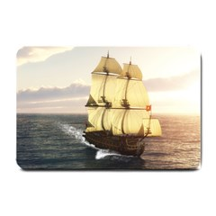 French Warship Small Door Mat