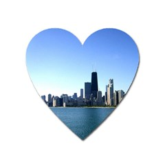 Chicago Skyline Magnet (Heart)