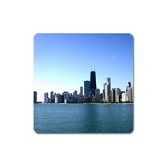Chicago Skyline Magnet (square)