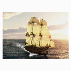 French Warship Glasses Cloth (large)