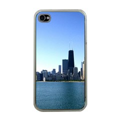 Chicago Skyline Apple iPhone 4 Case (Clear)