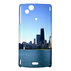 Chicago Skyline Sony Xperia Arc Hardshell Case