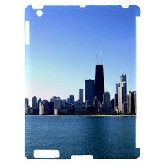 Chicago Skyline Apple iPad 2 Hardshell Case (Compatible with Smart Cover)