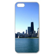Chicago Skyline Apple Seamless Iphone 5 Case (clear)