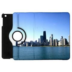 Chicago Skyline Apple iPad Mini Flip 360 Case