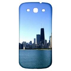 Chicago Skyline Samsung Galaxy S3 S III Classic Hardshell Back Case