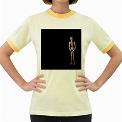 I Have To Go Womens  Ringer T Shirt (colored)