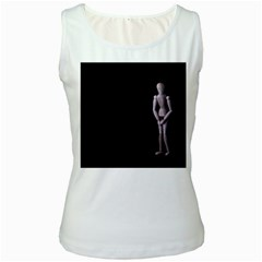 I Have To Go Womens  Tank Top (white)