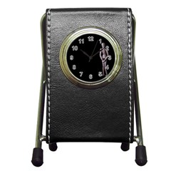 I Have To Go Stationery Holder Clock