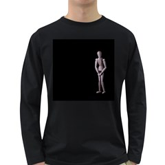 I Have To Go Mens' Long Sleeve T-shirt (Dark Colored)