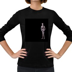 I Have To Go Womens' Long Sleeve T-shirt (Dark Colored)