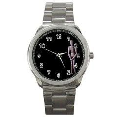 I Have To Go Sport Metal Watch