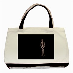 I Have To Go Twin-sided Black Tote Bag