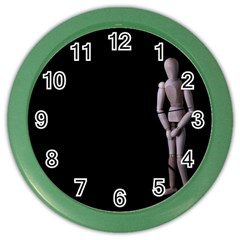 I Have To Go Wall Clock (Color)