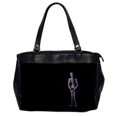 I Have To Go Oversize Office Handbag (One Side)