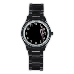 I Have To Go Sport Metal Watch (Black)