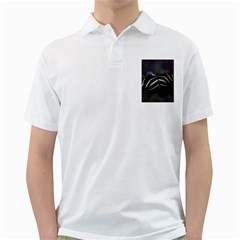 Butterfly 059 001 Mens  Polo Shirt (White)